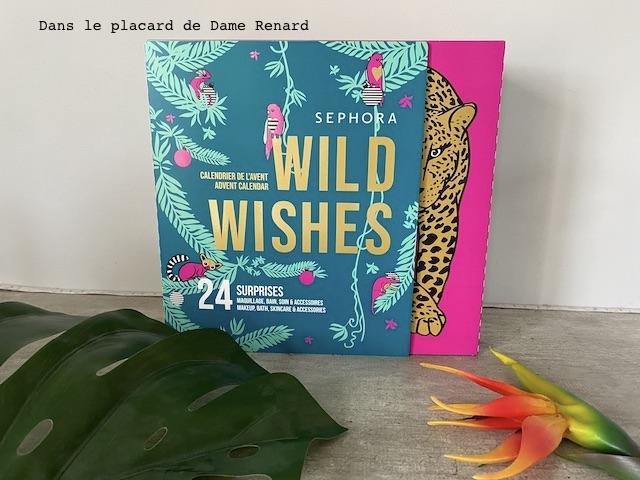 Calendrier de l'avent Wild Wishes Séphora