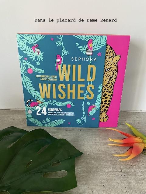 Calendrier de l'avant Wild Whises Séphora 2020