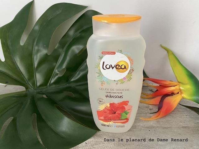 Gelée de douche hibiscus Lovea