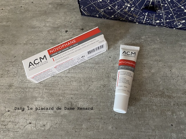 crème des ongles Novophane ACM