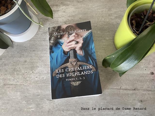 Les chevaliers des highlands Monica McCarty Tomes 1, 2 et 3