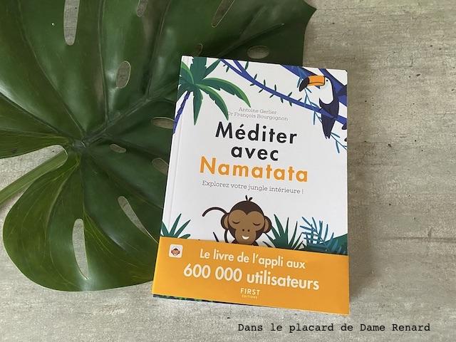 Méditer avec Namatata, Le livre