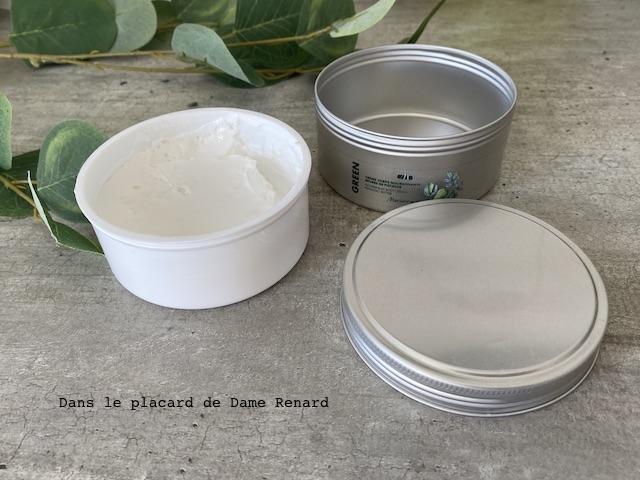 Crème corps nourrissante beurre de pistache Marionnaud Green