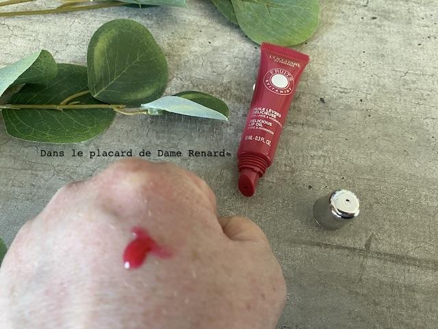 Huile lèvres délicieuse L'Occitane en Provence en teinte Pink Mécanic