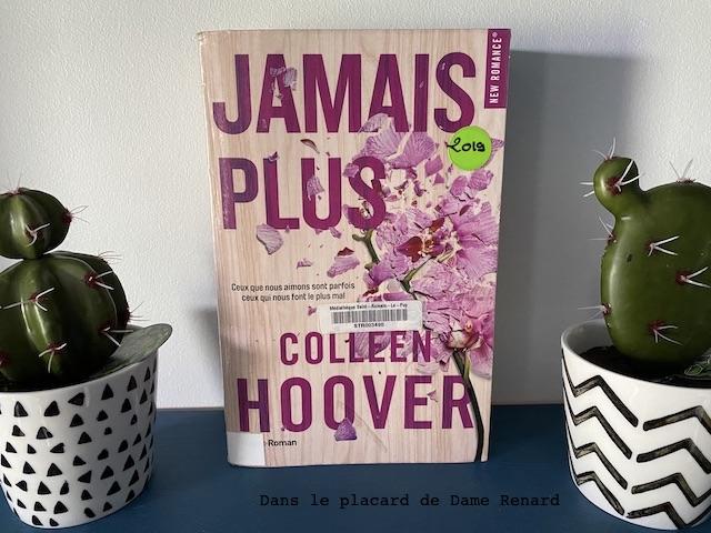 Jamais plus Colleen Hoover