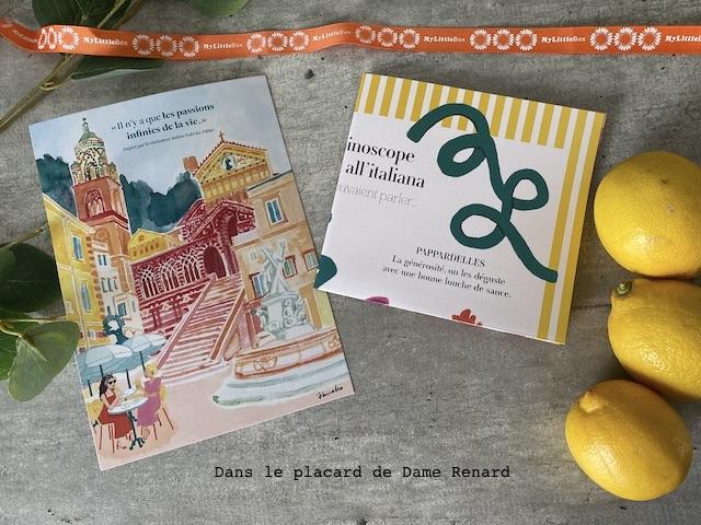 Paperasse My little Amalfi Box, avril 2021