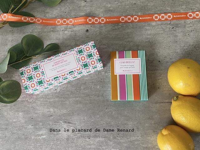 Goodies My little Amalfi Box, avril 2021