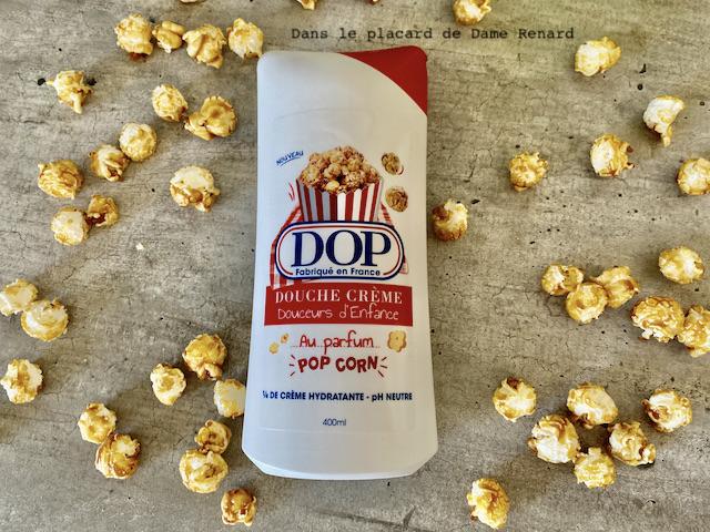 douche crème douceurs d'enfance au parfum pop corn DOP