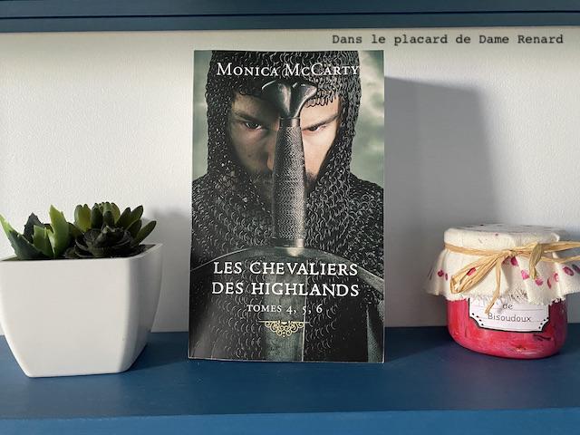 Les chevaliers des highlands Monica McCarty tomes 4, 5 et 6