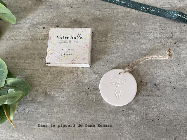 Votre bulle Médaillon décoratif diffuseur de parfum Rituals... x My little box