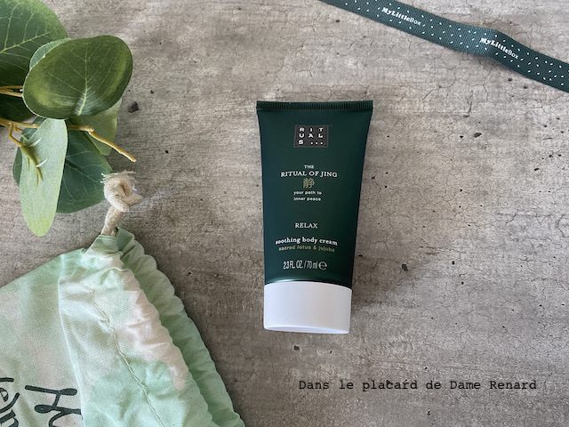 Soothing body cream Rituals...