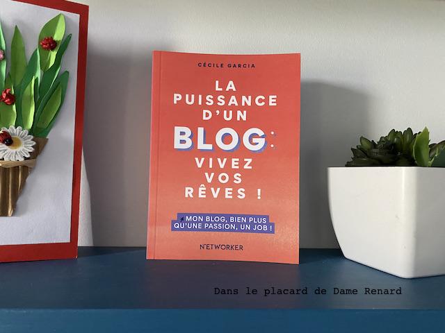 La puissance d'un blog: vivez vos rêves! Cécile Garcia