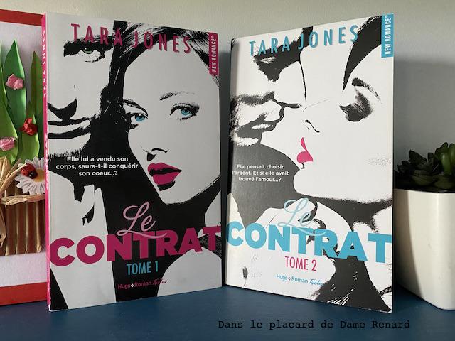 Le contrat tome 1 et 2 Tara Jones