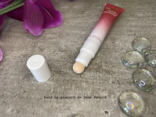 lip milky mousse Clarins