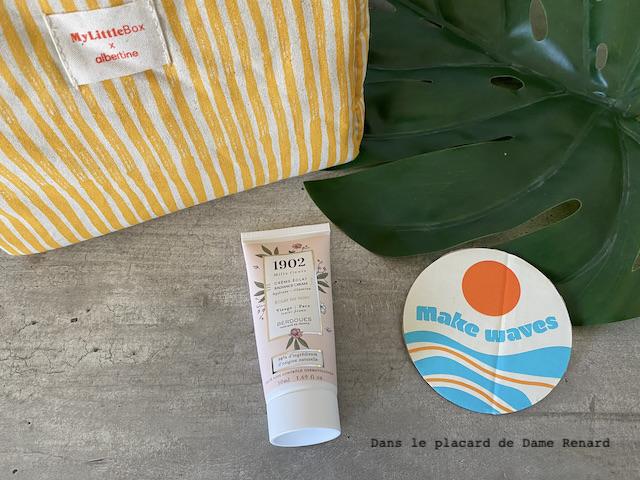 Crème éclat 1902 Mille fleurs Berdoues My little box x Albertine, la double box juillet/août 2021