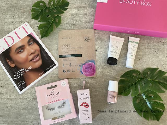 Beauty Box LookFantastic avril 2021