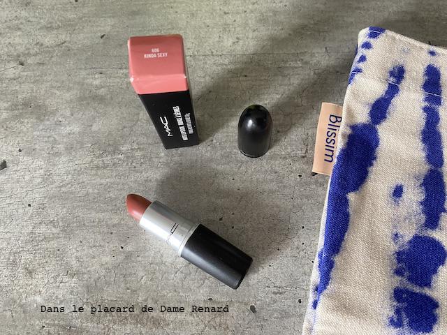 rouge à lèvres mac blissim x mac cosmetics: back to beauty septembre 2021
